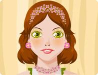 Flowery Makeup