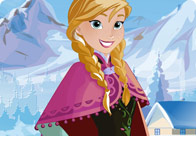 Frozen Princess Anna Frosty Makeover