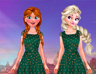 Frozen Sisters Shopping Eurotour