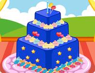 Funny Square Cake