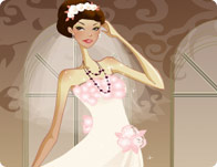 Gorgeous Bride Dress Up