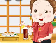 Grandparent Sushi Date