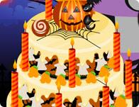 Halloween Cake Deco