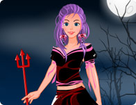 Halloween Dress Up Game