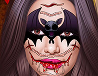 Kardashian: Halloween Face Art