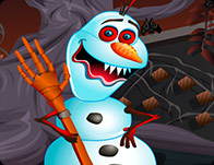Halloween Olaf Dress Up