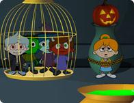 Hazel Halloween Trouble
