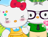 Hello Kitty's New Boyfriend