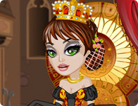 Click Here to Play Her Majesty's Makeover!