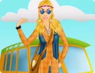 Hippie Chic Fashion Dress Up