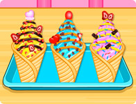 Ice Cream Cone Cupcakes 2