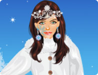 Ice Flower Princess Dress Up