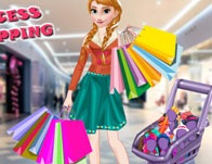 Ice Princess Mall Shopping