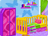 interior designer baby room girl games