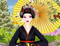 Japanese Garden Geisha Dress Up