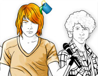 Jonas Brothers Coloring