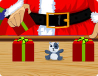 Juggler Santa