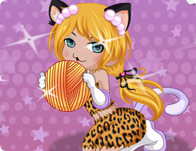 Kitty Girl Dress Up