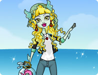Lagoona Blue Dress Up Game