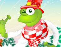 Leggy Frog