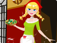 Linda The Waitress Dressup