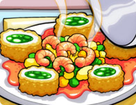 Click Here to Play Lisa's Famous Fish Rolls!