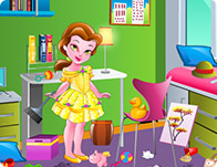 Litte Princess Belle Room Cleaning