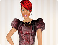 Lovely Rihanna Dress Up
