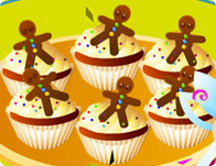 Make Gingerbread Cupcakes