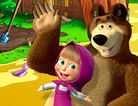 Masha and the Bear Farm Adventure