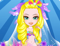 Mermaid Bride Dress Up