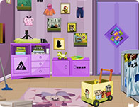 Messy Baby Room Escape - Girl Games