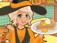 Mia Cooking Pumpkin Pie