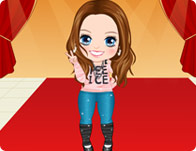 Miley Cirus Baby Dress Up Game