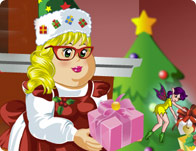 Miss Claus Dress Up