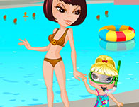 Mother Daughter Waterpark tile