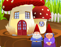 Mushroom House Decoration