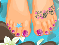 Click Here to Play My Pretty Pedicure!
