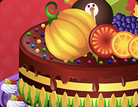 My Special Thanksgiving Cake