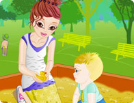 Click Here to Play New Babysitter!