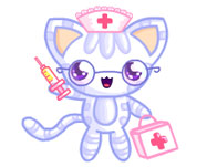 Nurse Kitten Chan Dress Up