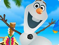 Olaf Summer Dressup