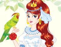 Parrot Girl Dressup