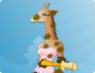 Peppy's Pet Caring Ms. Giraffe