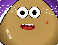 Pou at the Doctor