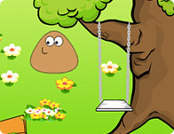 Pou Garden Decoration