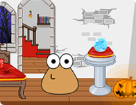 Pou Halloween Decor