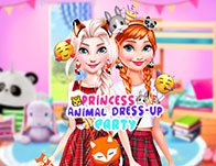 Princess Animal Dress-up Party