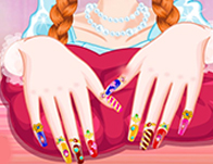 Nail games for girls girl games princess annie nails salon prinsesfo Gallery