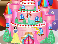 Princess Castle Cake 2
